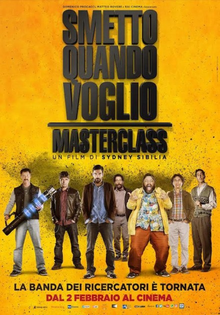 JARVIS nella colonna sonora di SMETTO QUANDO VOGLIO – MASTERCLASS