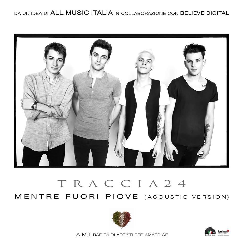 TRACCIA24 con ALL MUSIC ITALIA per AMATRICE